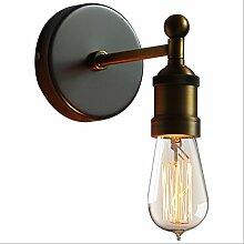NJ Wandlampe- Vintage Eisen Wandleuchte Wohnzimmer