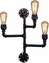 NJ Wandlampe- Vintage Industrial Eisen Wandleuchte