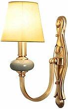 NJ Wandlampe- Vintage Kupfer Wandleuchte
