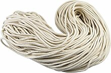 NKTM 100Yard Baumwolle Biese Kordel, ausziehbare