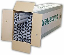 NMC 3008392 67m Rohrisolierung 15 mm x 20 mm 100cm 1m PE Schaum Isolierung Rohrisolation Dämmung Heizungsrohre Heizung