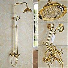 NMDD Duschset Golden Shower Faucet