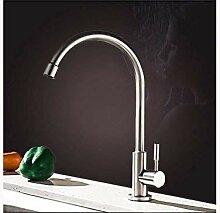 NMDD Wasserhahn Edelstahl Küchenarmatur heiß und