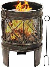 NMT Outdoor Fire Pit 23-Zoll-Feuerschale mit