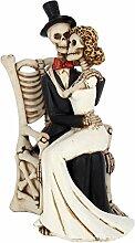 NN Hochzeitspaar Skelett Hochzeitsdekoration