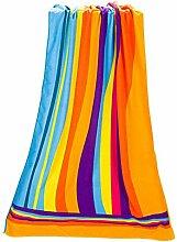 NO BAND 70 * 140 cm Buntes Regenbogen-Absorbent