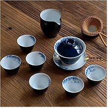No-branded Teekanne Kung Fu Tee-Set Paket von