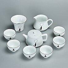 No-branded Teekanne Matt glasiert Weißes