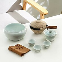 No-branded Teekanne Terrine Ceramic Tea Set Travel