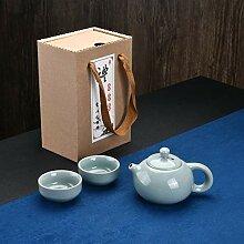 No-branded Teekanne Tragbarer Reise-Tee-Set Shih