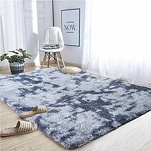 Noahas Abstrakter Zottelteppich für Schlafzimmer,