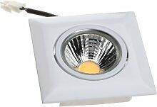 Nobile LED-Einbaustrahler A 5068Q T Flat 8 W,