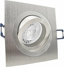 NOBLE 1 LED 10er Set 7,5W dimmbar 230V GU10 Decken