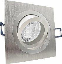 NOBLE 1 LED 8er Set 7,5W dimmbar 230V GU10 Decken