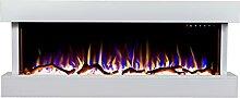 Noble Flame Atlanta weiß - Elektrokamin Wandkamin