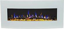 Noble Flame Detroit 1220 weiß [gewölbter Elektro