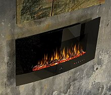 Noble Flame Detroit 900 - gewölbter Elektrokamin