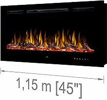 """Noble Flame Paris Schwarz 1150 (115 cm / 45"""") -"""
