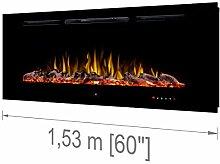 """Noble Flame Paris Schwarz 1530 (153 cm / 60"""") -"""