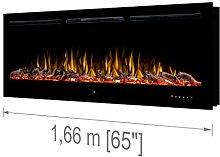 """Noble Flame Paris Schwarz 1660 (166 cm / 65"""") -"""