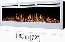 """Noble Flame Paris Schwarz 1830 (183 cm / 72"""") -"""