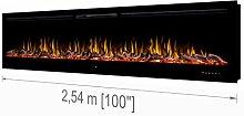 """Noble Flame Paris Schwarz 2540 (254 cm / 100"""") -"""