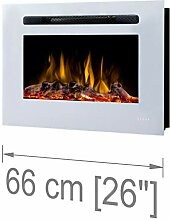Noble Flame Paris Weiß 1150 - Elektrokamin