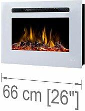 Noble Flame Paris Weiß 1400 - Elektrokamin