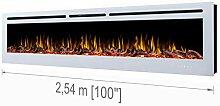 Noble Flame Paris Weiß 2540 - Elektrokamin