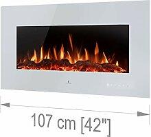 Noble Flame Vegas 1070 Weiß - Elektrokamin