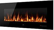 Noble Flame Vegas 1380 Schwarz - Elektrokamin