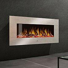 Noble Flame Vegas 1530 Edelstahl - Elektrokamin