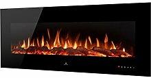Noble Flame Vegas 1530 Schwarz - Elektrokamin