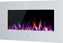 Noble Flame Vegas 900 Weiß - Elektrokamin
