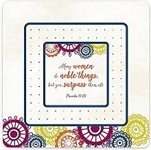 Noble Frau Sprüche 31: 29-in Magnet