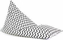 Nobodinoz Sitzsack ´´Essaouira´´ aus Baumwolle