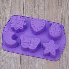 nobrand DIY Stern Mond Schmetterling Kuchen