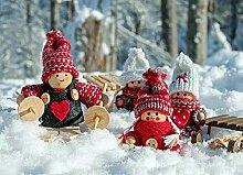 nobrand Puppenfiguren Figuren Holzfiguren - DIY