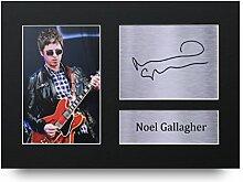 Noel Gallagher Signiert A4gedrucktem Autogramm Oasis Music Print Foto Bild Display–tolle Geschenkidee