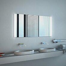 Noemi Design - LED BADSPIEGEL mit Beleuchtung - Made in Germany - (Breite) 40 cm x (Höhe) 70 cm