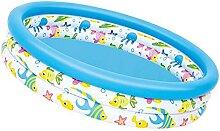 NOERTYB Planschbecken Aufblasbares Schwimmbad