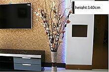NOHOPE Das Wohnzimmer getrocknete Blumen Dekoration Blumen Emulation Blüte Indoor Hochzeit Dekoration Künstliche Blumen Rose Muttertagsgeschenk