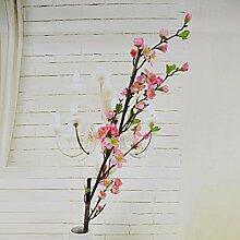 NOHOPE Künstliche Blumen Home Office Dekoration Kirschblüten Ewha Emulation Blume silk Blume Muttertagsgeschenk