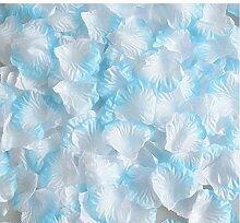 NOHOPE Romantisches Rosenblütenbad Emulation (100 Stück) Hochzeit Hochzeitszimmer Dekoration Hochzeit Szene Konfetti Muttertagsgeschenk