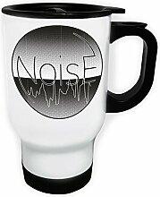 Noise Weiß Thermischer Reisebecher 14oz 400ml