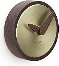 NOMON - Atomo Wand Gold. Luxus Designer Wanduhr.