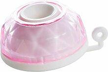 non-brand MagiDeal Wasserfilter Wasserhahn Filter mit Einstellbarer Düsenfilterkopf, 6,4 x 3 x 1 cm - Rosa
