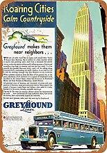 None Brand Greyhound Lines New York City