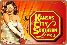 None Brand Kansas City Southern Liner Sexy hot