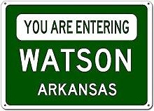 None Brand You Are Entering Watson,Arkansas City